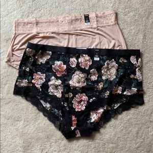 NEW torrid sexy brief lace panties 3X